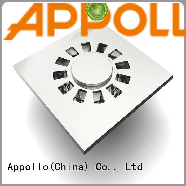Appollo new bathroom floor drain trap company for bathroom
