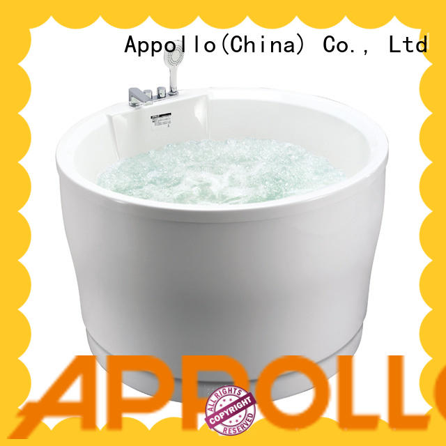 Appollo best round bath tubs manufacturers for family