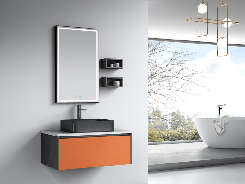 Best-selling Wall Mounted Bathroom Furniture In Modern Style Af-1821