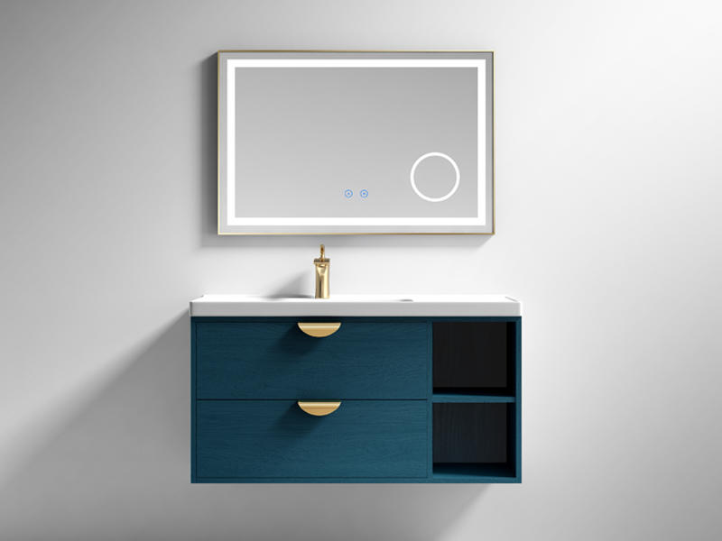 Chinese Bathroom Cabinet With Mirror And Light AF-1822
