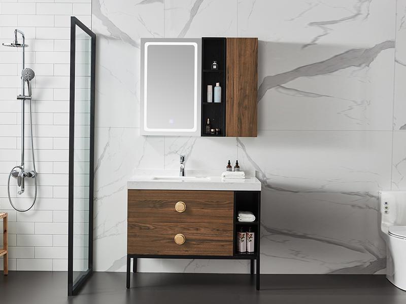 Fitted Bathroom Furniture, Wooden Bathroom Cabinets AF-1823