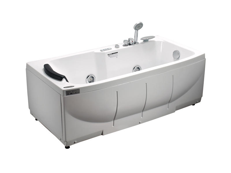 Freestanding whirlpool massage bathtub A-1139