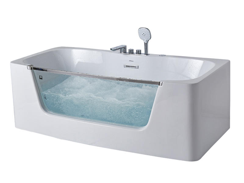 Best sale magic jets massage bathtub with colorful lighting AT-9075
