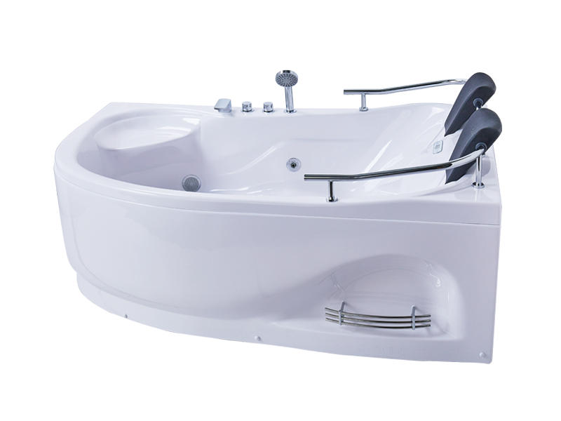 Modern 2 person bathtub, deep and large bathtub with two pillows AT-0919