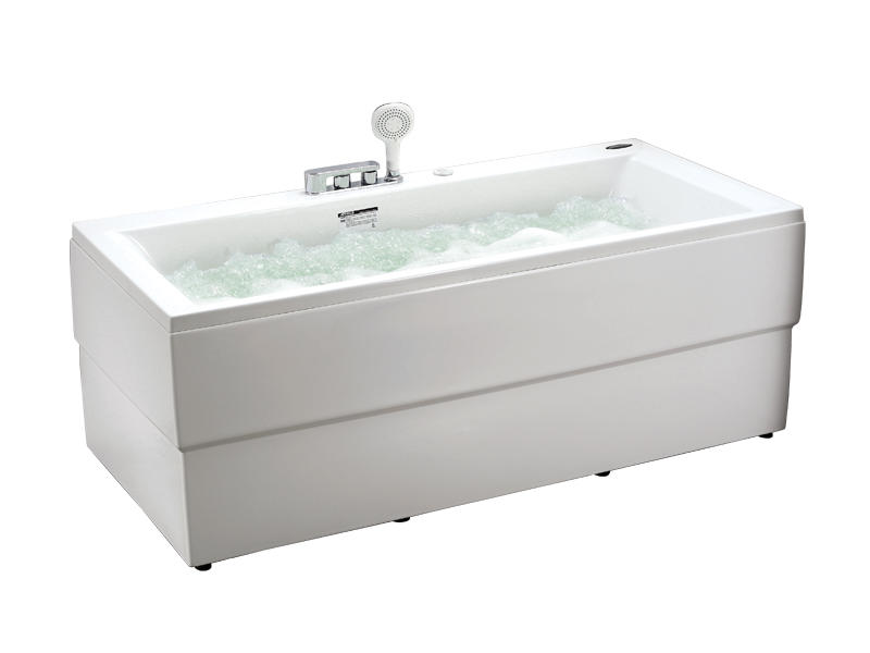 Hot sale massage bathtub with bubble and colorful lighting AT-9080