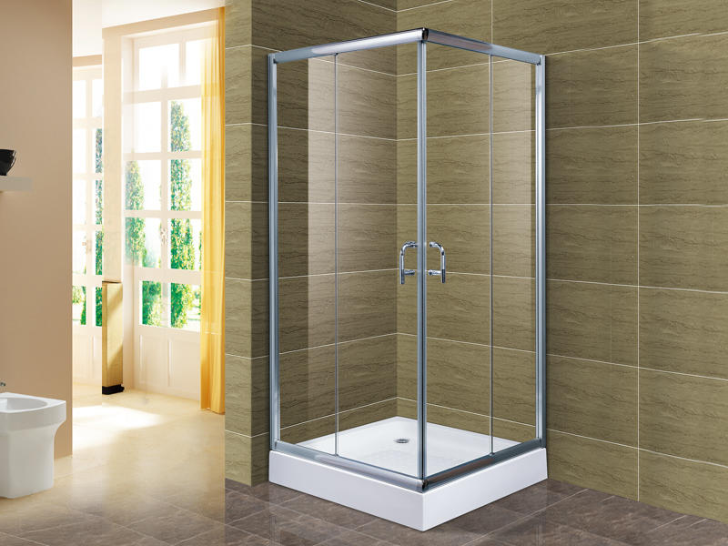 Easy Clean Glass Shower Enclosure Simple Style Ts-6992