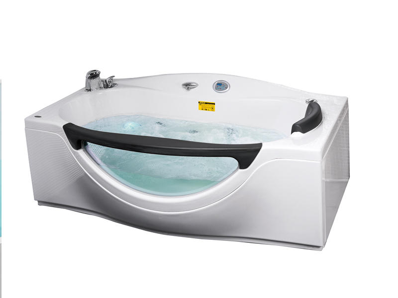 Corner massage bathtubs with shower & faucet AT-0932