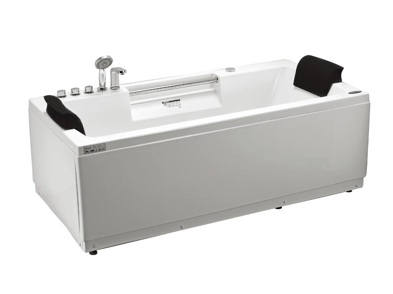 China hydro-massage bathtub with pillow AT-9016C