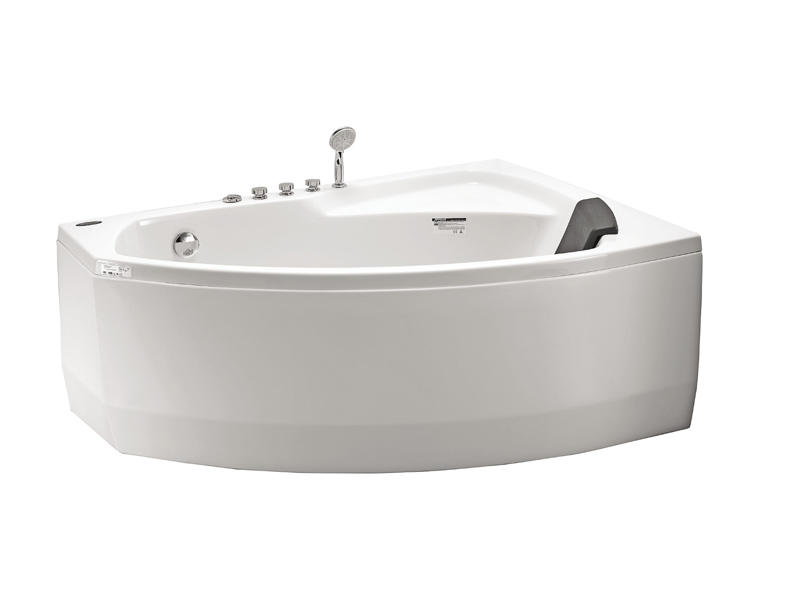 Classical corner hydromassage bathtub AT-9033