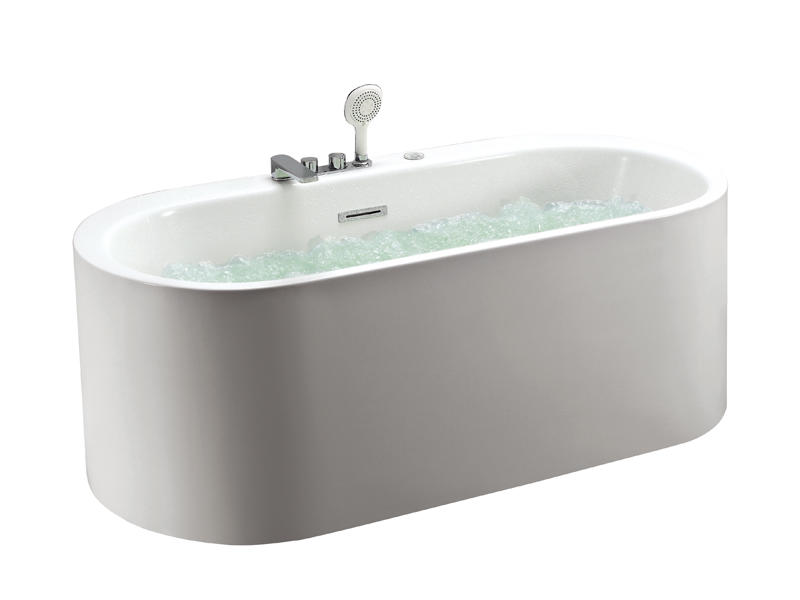 Modern bathtub with super powerful bubble massage AT-9048