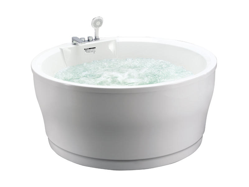 Simple and fashionable bubble massage bathtub AT-9087