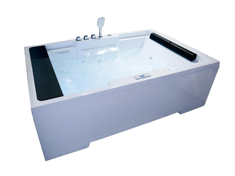Hot sale 2 person massage bathtub with two pillows AT-9109