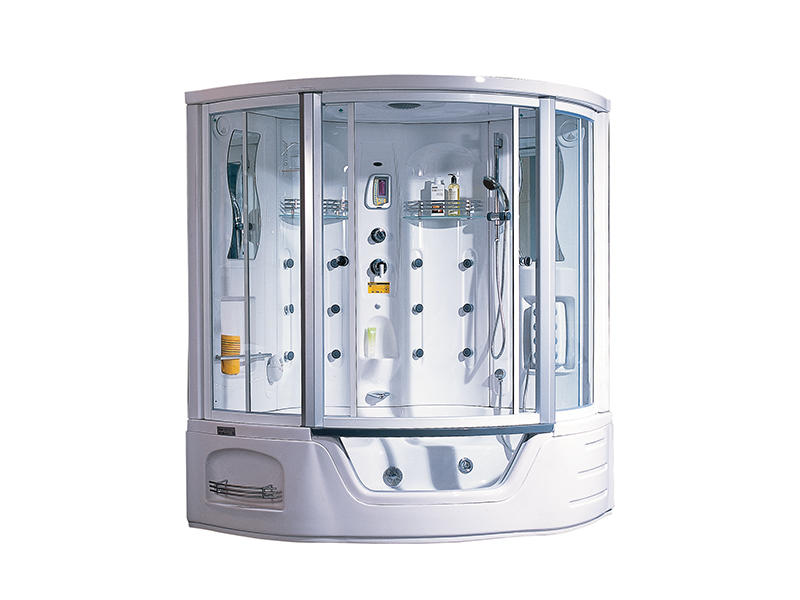 Best seller steam shower cubicle with whirlpool massage bathtub A-0818
