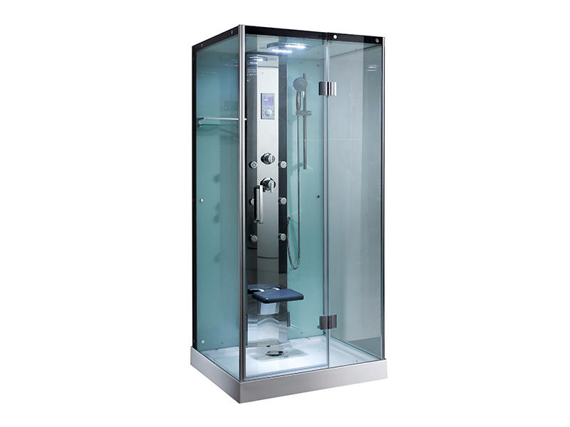 Shower Cabinet With Seat, Home Steam Shower Unit A-8839