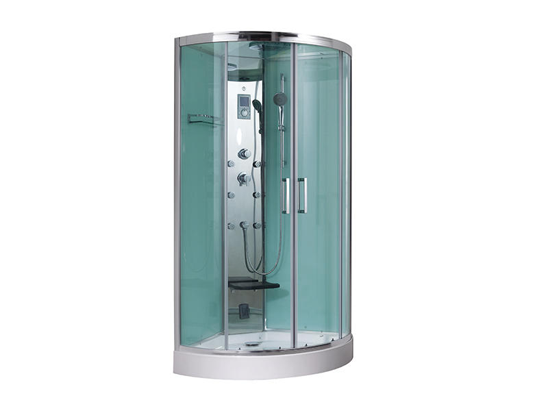 Steam shower cubicle enclosure bath cabinet A-8837