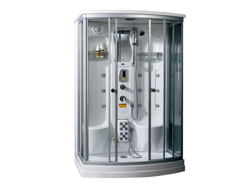 Bath shower cabin with steam massage shower A-0238