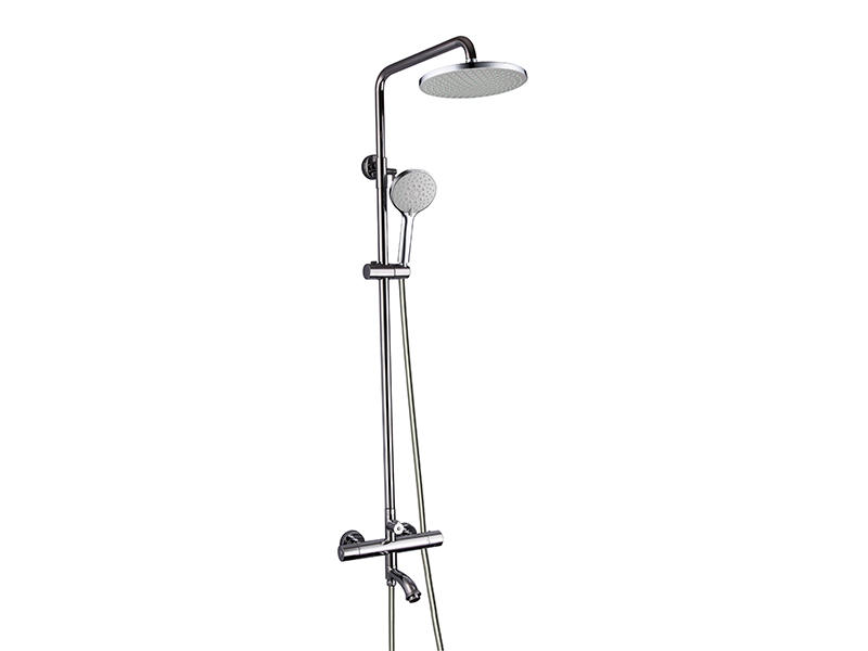 Modern rain shower head with handheld in China AS-8019-E