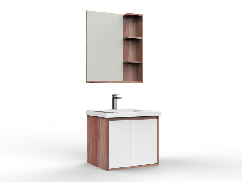 Simple bathroom sink and cabinet, bathroom cabinet with mirror AF-1812