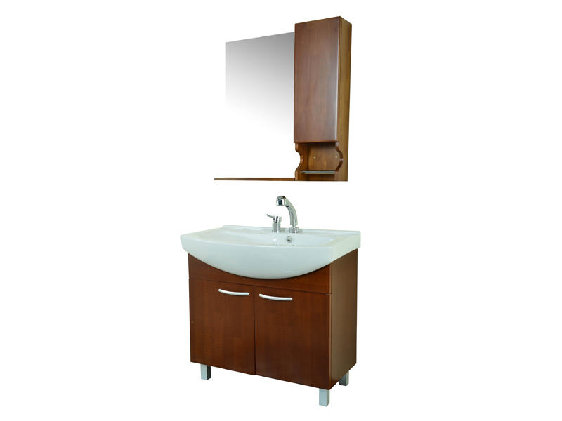 Standing bathroom furniture, bathroom cabinet set UV-3805A