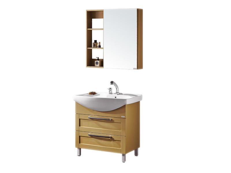 Bathroom mirror cabinet, fitted bathroom furniture UV-3925
