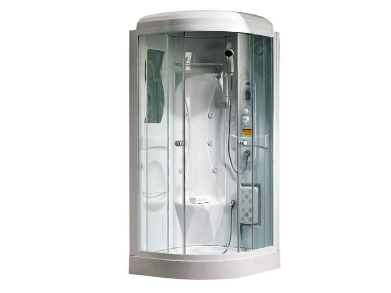 Good quality complete shower enclosures with tray TS-33W
