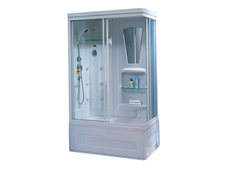 Bath shower enclosure with bathtub TS-41WR