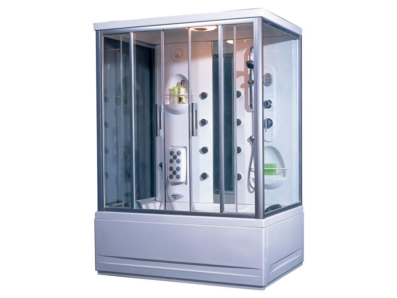 Manufacturer of Full shower enclosure with bathtub in China TS-150W