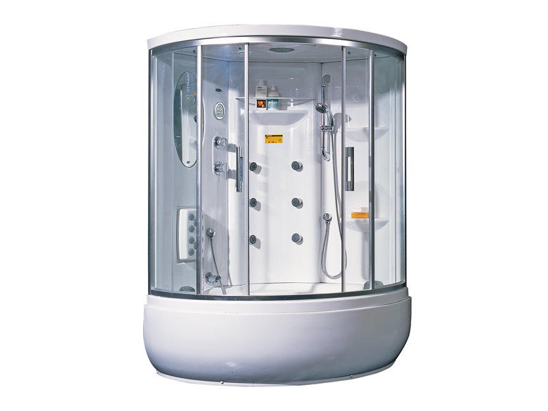 Suppliers of bathroom shower enclosures with tub TS-1235W