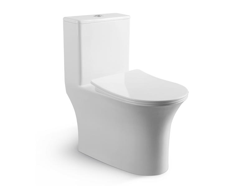 Bathroom Commode With Comfort Height and safety ZB-3907