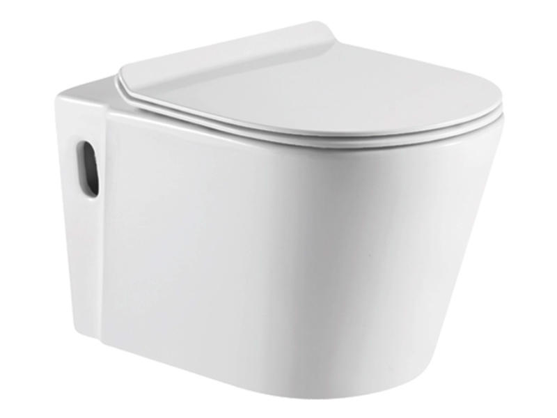 Modern bathroom toilet with comfort height ZB-3443A