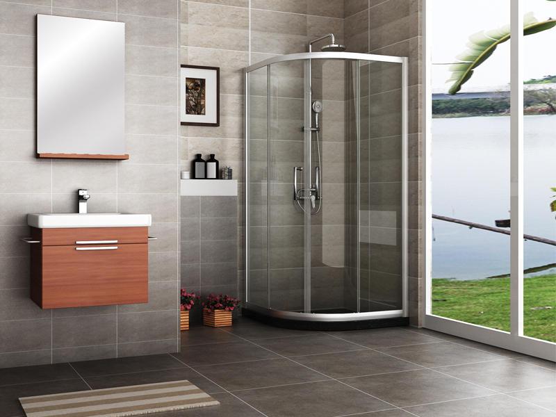 Shower stall enclosures, quadrant shower enclosures TS-6223