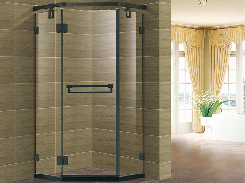 Shower enclosure with glass door,corner shower unit TS-6998