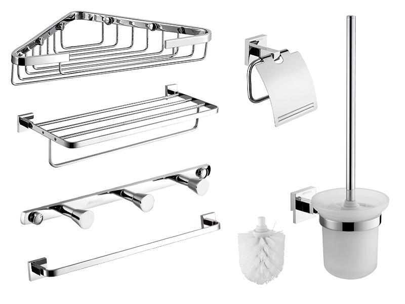 Factory Wholesale Modern Bathroom Accessories Set 7 Pieces MC-005