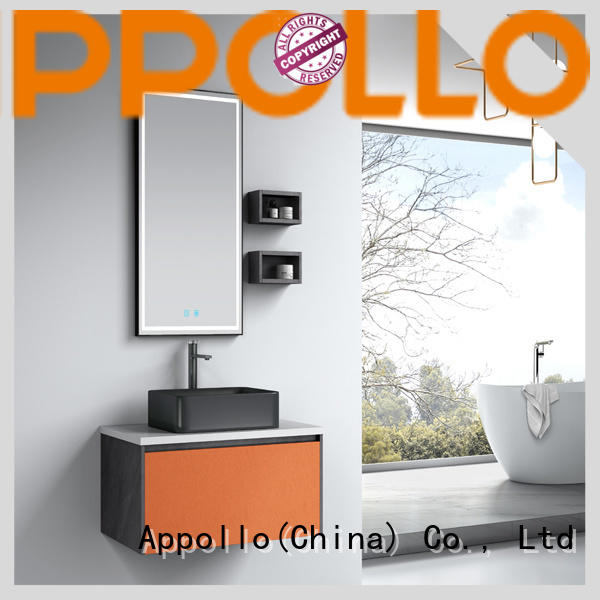 Appollo wholesale white bathroom cabinet company for home use