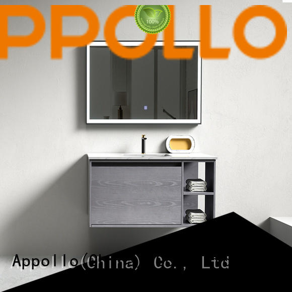 Appollo wholesale wooden bathroom cabinets suppliers for house