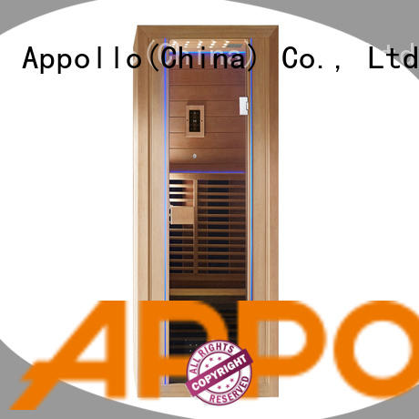 Appollo wholesale infrared sauna for home use manufacturers for 2-3 person