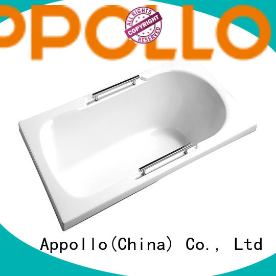 Appollo wholesale ceramic bathtub for home use