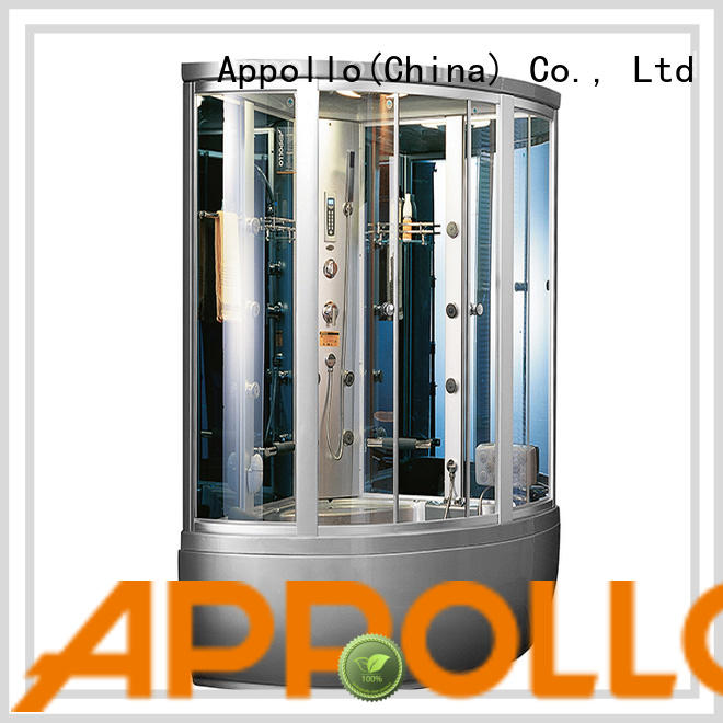 Appollo cabinet jacuzzi steam shower supply for family