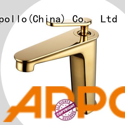 Appollo single wholesale bathroom faucets company for basin