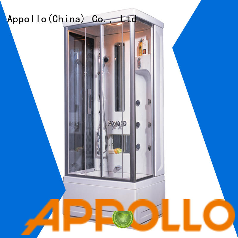 Appollo aw5029 shower enclosure manufacturer factory for resorts