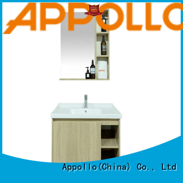 Appollo high-quality bathroom storage units factory for resorts