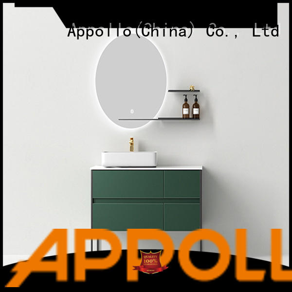 Appollo acrylic bathroom furniture suppliers for hotels