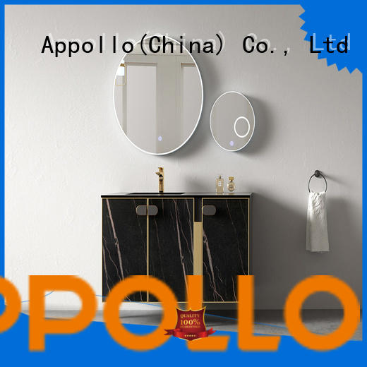 Appollo basin wall mounted bathroom cabinet supply for family