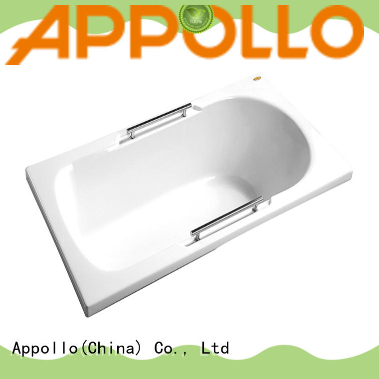 Appollo tts1502ts1502q corner soaking tub factory for bathroom