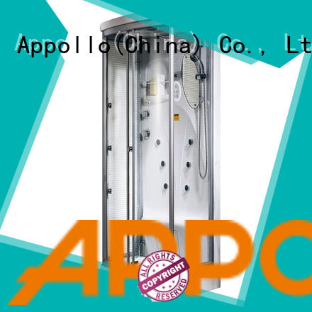 Appollo aw5029 shower enclosure with tray for business for home use