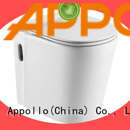 Appollo western dual flush toilet for restaurants