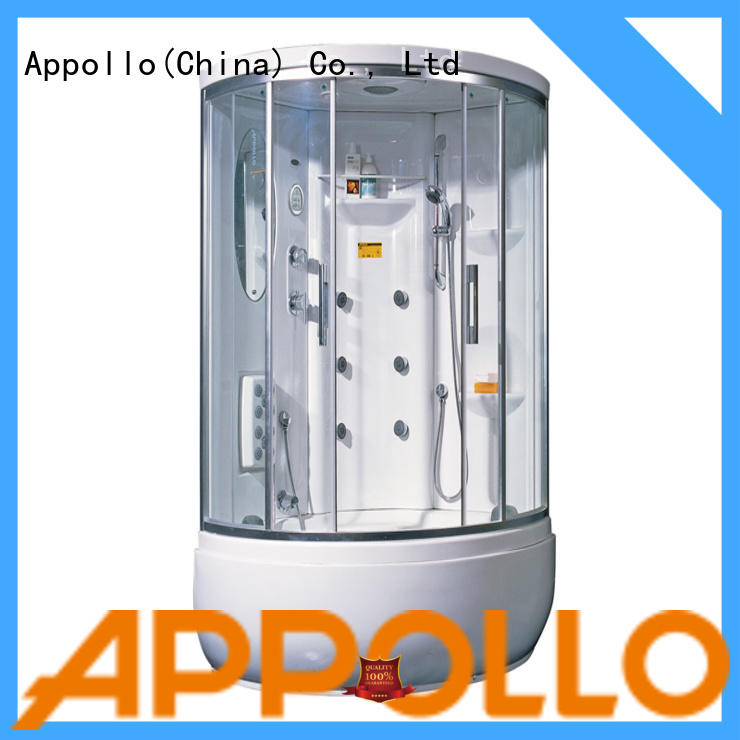 Appollo aw5027 enclosed shower cubicle company for resorts