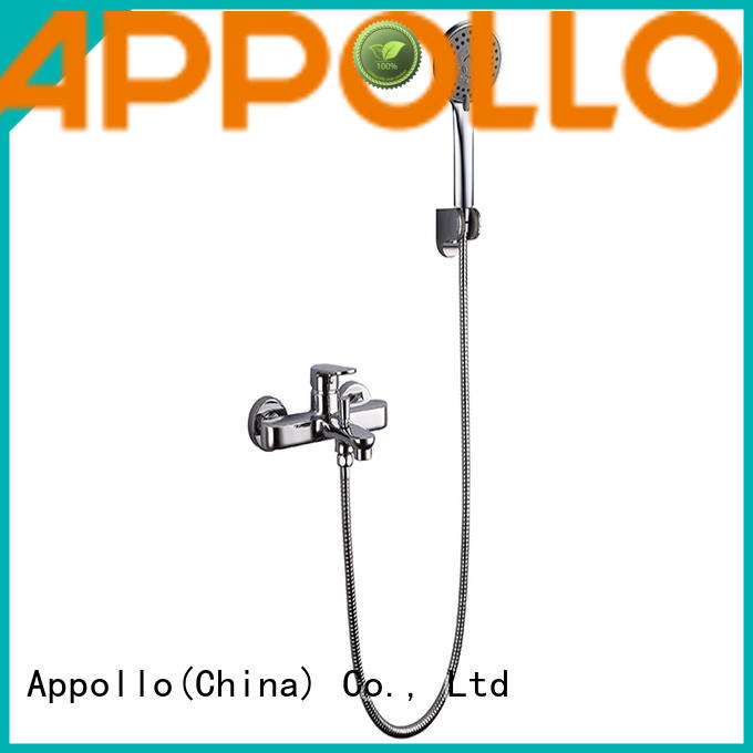Appollo wholesale high pressure rain shower head factory for hotels