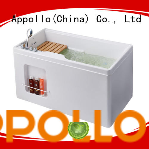 Appollo best freestanding spa bath factory for indoor