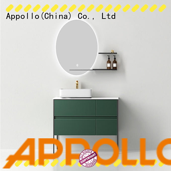 Appollo acrylic toilet cabinet suppliers for home use